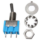 3 Pins Toggle Switch AC 125V 6A 2 Position SPDT