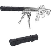 Tactical Hunting Airsoft 22cm Silencer Suppressor Mirage Heat Cover Shooting Muffler Baffler
