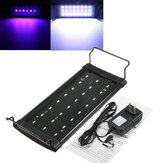 Tocar la tapa del acuario LED pecera plantas acuáticas luz lámpara 100-240V iluminación del acuario marino