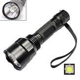 MECO C8 2000lumens 5 Modes LED Flashlight 1x18650