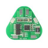 Original 10pcs 4A 3S Circuito de litio Li-ion Batería Tablero de protección PCB de tres celdas