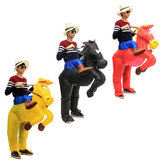 Halloween Party Home Inflatable Multicolor Horse Costume Adult Air Blowup Funny For Kids Toys