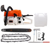 Original 20 Inch 58cc Gasoline Chainsaw Garden Instrument Woodworking Chain Saw Refit Kit