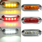 2W ABS LED Side Marker Light Tail Lamp Indicator Universiaal voor Trailer Truck Boat