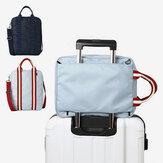 Honana هن-TB10 للماء حقيبة تخزين القماش الخشن متعددة الوظائف كبيرة للجنسين حقيبة يد