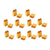 Original 10 Pairs XT30 2mm Golden Male Female Plug Interface Connector