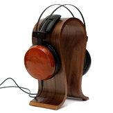 Wooden U Shape Display Stand Hanger Holder Rack for Headset Earphone Headphone