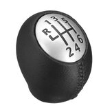 6 Speed Gear Shift Knob For Renault Megane Clio Laguna Vauxhall Opel PU Leather