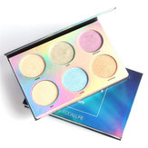 6 Colos Chameleon Eye Shadow Highlighter Palette Trucco
