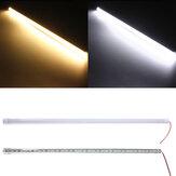 50CM 10W DC12V LED Rigid Streifen Licht 36 SMD 7020 Aluminiumlegierung Shell Kabinett Lampe Bar