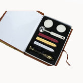 Metal Classic Seal Sealing Wax Set Stick Stamp For Letters Invitation Seal wax seal