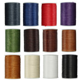 Waxed Thread 0.8mm 78m Polyester Cord Sewing Kit Stitching Leather Craft Bracelet