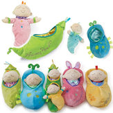 Newborn Bebe Cute Stuffed & Plush Toys kids Stuffed Pea Prince Doll Baby Sleeping Dolls