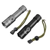 XANES183-T6XML-T61000Lumens3ModesPortable Luminosité Tactique Zoomable LED Lampe de poche