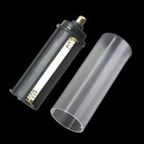 1pcs AAA Adapter + 1pcs 18650 White Tube For LED Flashlight Torch
