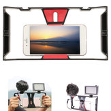 Video Camera Cage Anti-shake Protective Camera Handle Stabilizer for Cellphone
