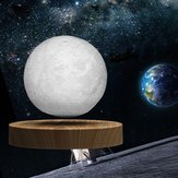 10cm 3D LED Moon Night Light Magnetic Levitating Floating Lamp Gift Home Desk Decor AC110-240V