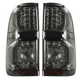 Original Para Toyota Hilux (Vigo) 2004-2015 Par Coche LED Luz trasera de freno Luz trasera Lámpara Humo negro