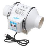 Original 220V 35W 3 Inch Sistema de ventilación del sistema de ventilación del extractor de aire hidropónico de conducto en línea