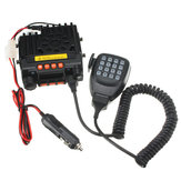 QYT UV Portable Dual Band VHF136-174/UHF400-480MHz Mobile Transceiver Vehicle Two-Way Radio