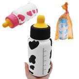 Enorme leche de enfermería botella Squishy 25 * 9.5 * 9.5CM gigante lento aumento con el embalaje Soft juguete