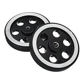 65mm 4mm/6mm Hole Diameter Metal Wheels for Smart Robot Chassis Car