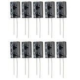 10pcs 35V 1000uF Condensateur Electrolytique Faible ESR 13 x 20mm