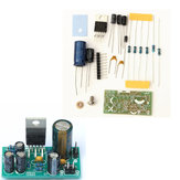 Original 10pcs DIY TDA2030A Audio Amplificador Kit de tablero Mono Power 18W DC 9V-24V