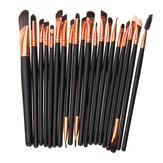20Pcs Maquillaje Cepillos Set Powder Eyeshadow Eyeliner Lip Cosmetic Cepillo herramienta