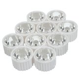 10pcs 60° 90° 120° LED Lens for High Power DIY White Light Lamp Bulb