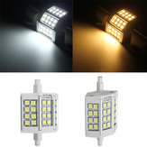 R7S5W 78MM 24 SMD 5050 White Warm White LED Light Bulb Lamp Non-Dimmable AC 85-265V