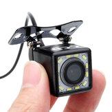 170 degrés kit de vue arrière de véhicule de voiture caméra de recul de voiture de stationnement 12 LED avec câble