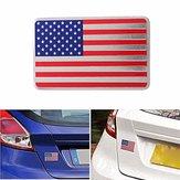Автомобиль американский флаг США эмблема наклейка металлический значок деколь декора универсальный грузовик авто