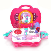 Pink Girls Cosmetics Toys Set Dressing Table Toys For Kids Children Gift