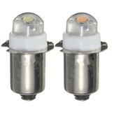 P13.5S PR2 LED Flashlight Bulb 0.5W Interior Torch Replacement Bulb DC3-18V Pure/Warm White