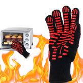 Original BBQGrillGlove500℃Extremadamente resistente al calor Guantes Cocción Hornear Guantes cámping Picnic