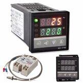 Kit de contrôleur de température numérique PID REX-C100 220V