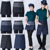 Original Algodón Chef Uniform Rushed The New Fashion Cowboy Delantal Bust Restaurant Hotel Cafe Kitchen Delantales