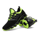 US Size 7.5-10 Outdoor Running Tank Bottom Deportes Male Blade Cattle PVC antideslizante transpirable zapatos