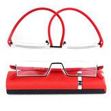 Mens Womens Folding Portable Readers Reading Glasses