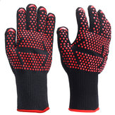 1 pair 500°C Heat Proof Grilling Gloves BBQ Kitchen Cooking Industrial Work Tools
