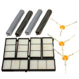 13Pcs Filters Brush Pack Replacement Kit For iRobot Roomba 800 900 Series