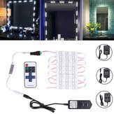 Waterproof 1.5M SMD5630 LED White Cosmetic Mirror Module Strip Light+ Remote Control