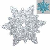 Métal, flocon de neige, noël, découpage, meurt, diy, scrapbooking, album, papier, carte, décor