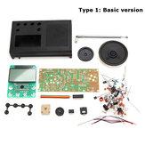 Geekcreit® DIY 3V FM Radio Kit de Aprendizaje Eléctrico de Rango de Frecuencia 72MHz-108.6MHz