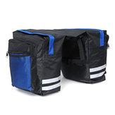 BIKIGHT Bike Frame Bag Double Side Saddle Bag Outdoor Camping Cycling Storage Bag Bike Bag