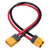 Original Amass 10cm / 20cm / 30cm 12AWG XT60H-F Macho a enchufe hembra Alambre Adaptador de cable