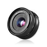 VELEDGE 32mm F1.6 Large Aperture Manual Prime Fixed Lens APS-C for Sony E-Mount Digital Mirrorless Cameras NEX 3 NEX 3N NEX 5 NEX 5T NEX 5R NEX 6 7 A5000 A5100 A6000 A6100 A6300 A6500