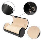 3-Slot Watch Travel Case Leather Roll Jewelry Storage Box