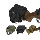 Tactical Gun Buttstock Ammo Cartridges Holder